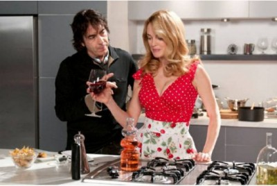 Heather Graham in toque and stilettos, turns up the heat in the  Kitchen with Compulsion director Egidio Coccimiglio.