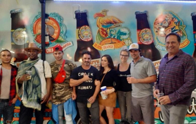 Lebo Opening _ Lorenzo Borghese_Carlo South Beach Brewery.jpg